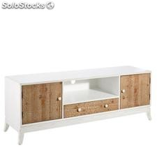 Mueble tv crema natural 152x41,50x53,50cm
