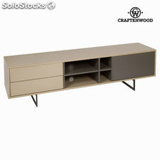 Mueble tv. liv moka gris - Colección Modern by Craftenwood