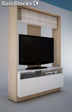 Mueble tv modelo basic