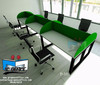 Muebles modulares para internet o call center