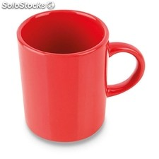 Mug coffee roja