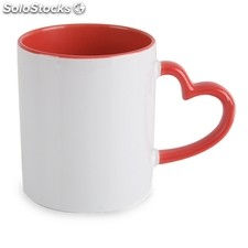 Mug sublimation coeur z-693