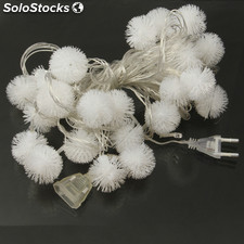 Multi-Colored Snowball Colgantes 30-LED 7m Decoración Luces (AC 12-240V /