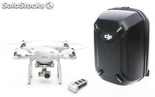 Multicóptero DJI Phantom 3 Advanced + bateria extra + mochila original