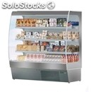 Multideck chiller - mod. capri c inox - suitable for meat - stainless steel -