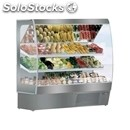 Multideck chiller - mod. capri fv inox - suitable for fruit and vegetables -