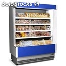 Multideck chiller - mod. speed80 verniciato s/l - painted - suitable for meat