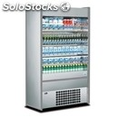 Multideck display fridge - mod. mini 110 x - stainless steel - capacity lt. 615