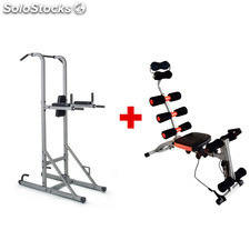 ✅ multiestacin dkn power tower + regalo banco de musculacin 6XBENCH