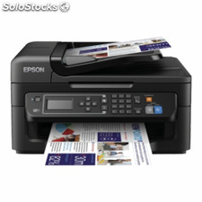 Multifuncion epson wifi con fax workforce wf-2630wf - 34/18 ppm