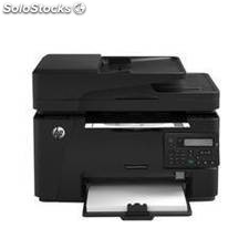 Multifuncion hp laser monocromo pro m127fn fax a4/ 20ppm/ 128mb/ usb/ red/ adf/
