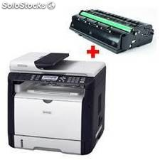 Multifuncion laser monocromo ricoh sp311sfnw 1200 x 600 28ppm fax red wifi +