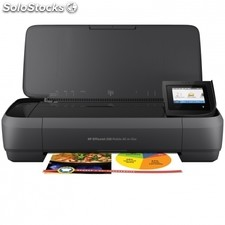 Multifuncion wifi portatil hp officejet 250 mobile aio - impresion sin bordes -