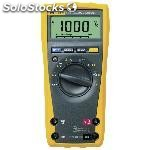 Multimeter digital fluke 179 trms ac 6000 dígitos 1000 vac 1000 vdc 10