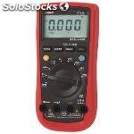 Multimeter digital mean value 3999 digits 1000 vac 1000 vdc 10 adc