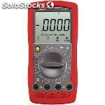 Multimeter digital rms 19999 digits 1000 vac 1000 vdc 20 adc
