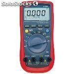 Multimeter digital trms ac 6000 digits 750 vac 1000 vdc 10 adc