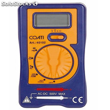 Multimetro Elec Digit. Lcd Cat I Coati