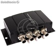 Multiplier 4-port repeater sdi hd-sdi sd-sdi 3G-sdi NewBridge (DI12)
