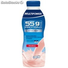 Multipower 55 gr Protein Drink 12 botellas x 500 ml