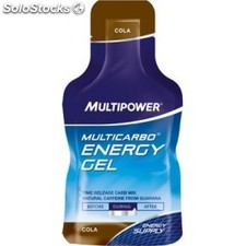 Multipower Multicarbo Energy Gel Guarana 24 gel x 40 gr