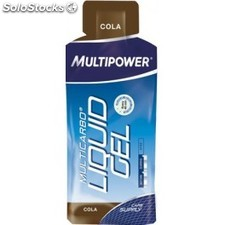 Multipower Multicarbo Liquid Gel con Cafeína 25 geles x 55 ml