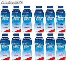 Multipower Whey Protein Drink 12 botellas x 500 ml