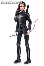 Muñeca Barbie Hunger Games Edicion Limitada Katniss