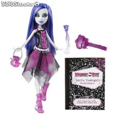 Muñeca SPECTRA diario monster high