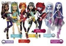 Muñecas monster high cinco diferentes