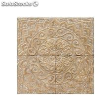 Mural pared natural oro metal 92,70x4,50x92,70cm