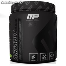 Muscle Pharm Black Label Assault Supplement, Fruit Punch, 12.38 Ounce