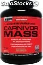 MuscleMeds Carnivor Mass, Chocolate Fudge - 5.7 Libras