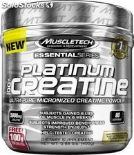 MuscleTech Platinum 100% Creatine, 400 Grams
