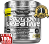 MuscleTech Platinum 100% Creatine, 400 Grams Unflavored
