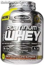 MuscleTech Platinum 100% Whey Protein Powder, Milk Chocolate Supreme 2.28kg