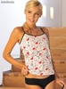 Musculosa y coulotte