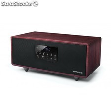 Muse - M-630 DWT Home audio mini system 40W Negro, Rojo sistema de audio para el
