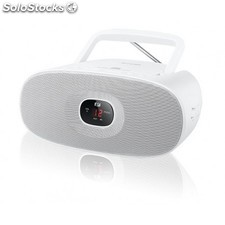 Muse - MD-202 Portable CD player Color blanco
