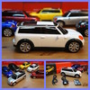 Music car altavoz digital stereo FM portatil mini cooper white usb sd MP3 MP4