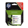 N9j73ae. hewlett packard cartucho inyeccion tinta rainbow pack (364)