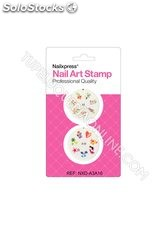 Nail Art Stamp Kit duo Ref. A3-A16