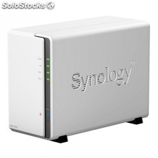 Nas synology diskstation DS216J - cpu dc 1.0GHz - 512MB DDR3 - 2 bahias max.