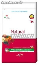 Natural Adult Medium con Manzo, Riso e Ginseng 12.50 Kg