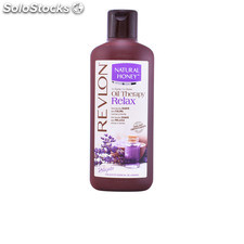 Natural Honey oil therapy relax aceite esencial lavanda gel 650 ml