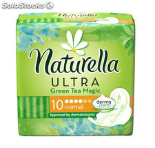 Naturella Ultra Single pads Norm ZielHerb 10