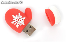 Navidad memoria usb Flash Drive USB 2.0 pendrive al por mayor 316