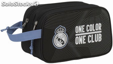 Neceser Doble Real Madrid Black Adaptable