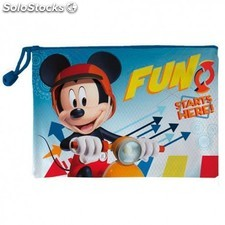 Neceser Mickey Disney Impermeable 29,5x21cm.