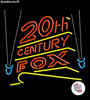 Neon Retro 20th Century Fox